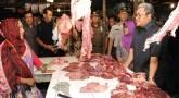 Aher Sidak Pasar, Harga Daging Sapi Rp105 Ribu/Kg