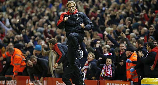Juergen Klopp Sabet Gelar Manager of The Month
