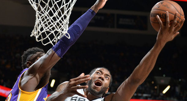 Lakers Jadi Bulan-bulanan Spurs
