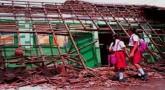 Disdik Desak Pemborong Perbaiki Sekolah Ambruk