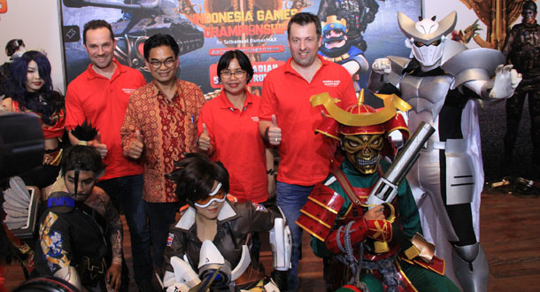 Telkomsel Gelar Indonesia Games Championship