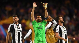 Buffon Tak Percaya Bisa Clean Sheet di Camp Nou