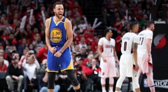 Minus Durant, Warriors Ungguli Blazers di Game 3