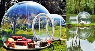 Rumah Unik Bubble Tents