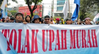 6.000 Buruh Peringati May Day di Gedung Sate