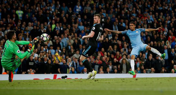 Man City Bungkam WBA di Etihad Stadium