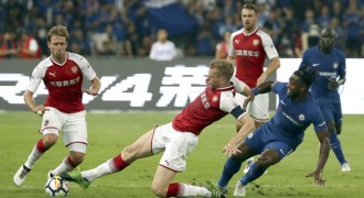 Chelsea Menangkan Derby London di China