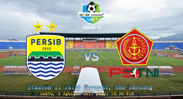 Ini Starting Eleven Persib vs PS TNI