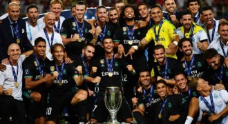 Real Madrid Juarai Piala Super Eropa