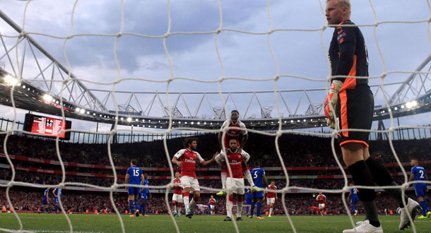 Arsenal Hajar Leicester City via Drama 7 Gol