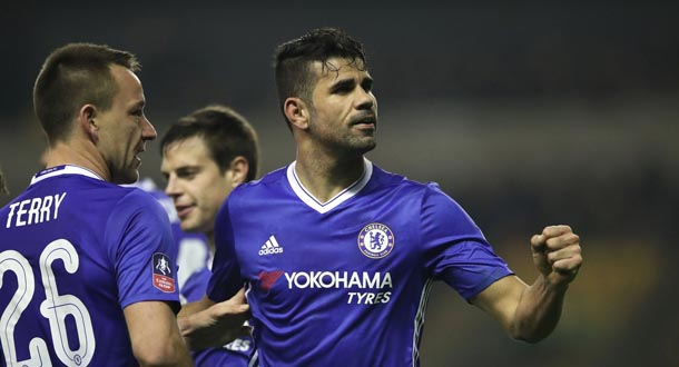 Atletico Optimistis Bawa Pulang Diego Costa