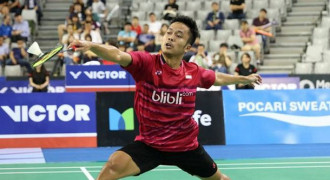 Anthony Ginting Raih Titel Super Series Perdana
