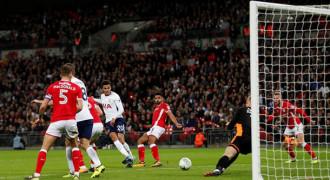 Tim Kasta Bawah Nyaris Bikin Tottenham Frustasi