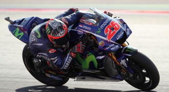 Maverick Vinales Pole Position di GP Aragon