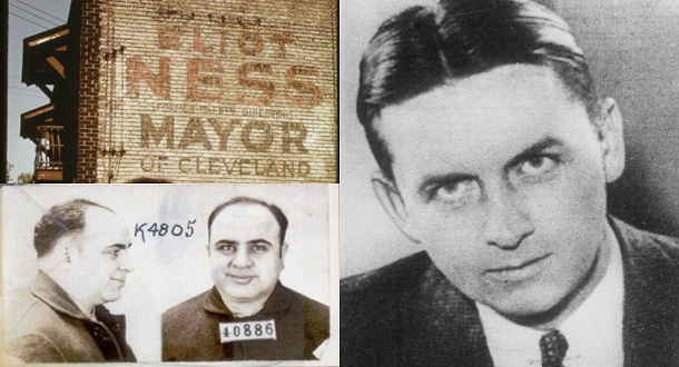 Agen FBI Legendaris Eliot Ness, Musuh Al Capone