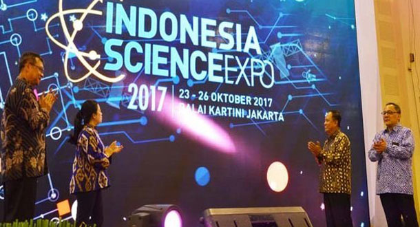 Menko PMK Buka Indonesia Science Expo 2017