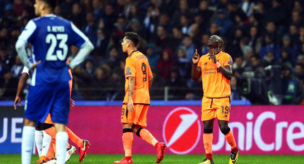 Liverpool Permak FC Porto di Do Dragao