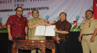 KBB Jalin MoU Smart Village dengan Kominfo
