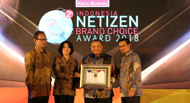 Pos Indonesia Raih Netizen Brand Choice Award 2018