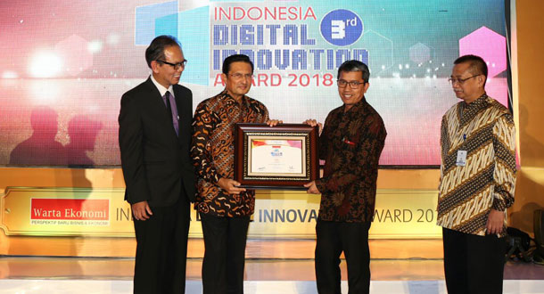 PT Pos Raih Indonesia Digital Innovation Award