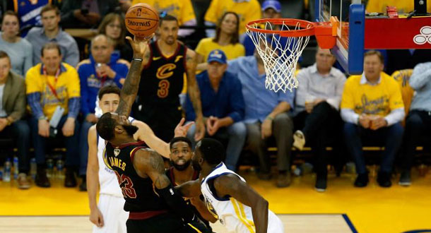 Via OT, Warriors Tekuk Cavs di Gim 1 Final NBA
