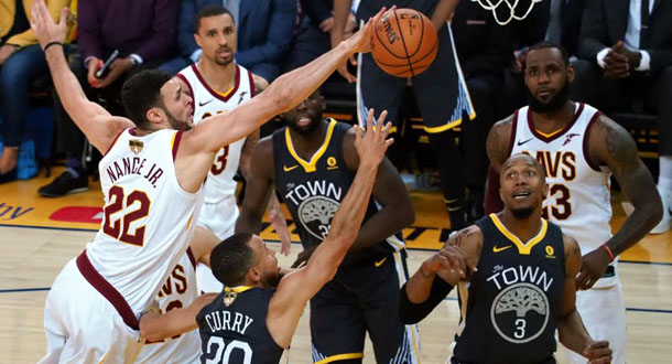 Final NBA: Warriors Gandakan Keunggulan Atas Cavs