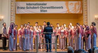 Keren, Telkom University Choir Juara di Austria