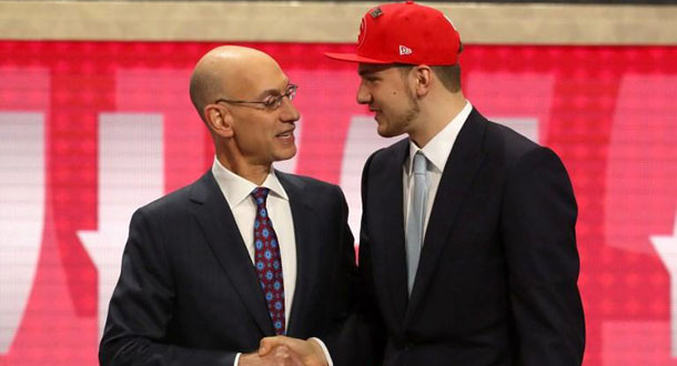 NBA Draft 2018, Doncic Gabung ke Mavericks
