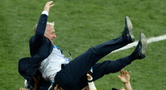 Deschamps Diabadikan Jadi Nama Subway di Paris