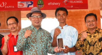 Ridwan Kamil Launching Desa Digital