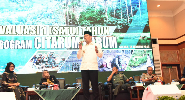 Emil :Optimis 2019 Program Citarum Harum Akan Baik